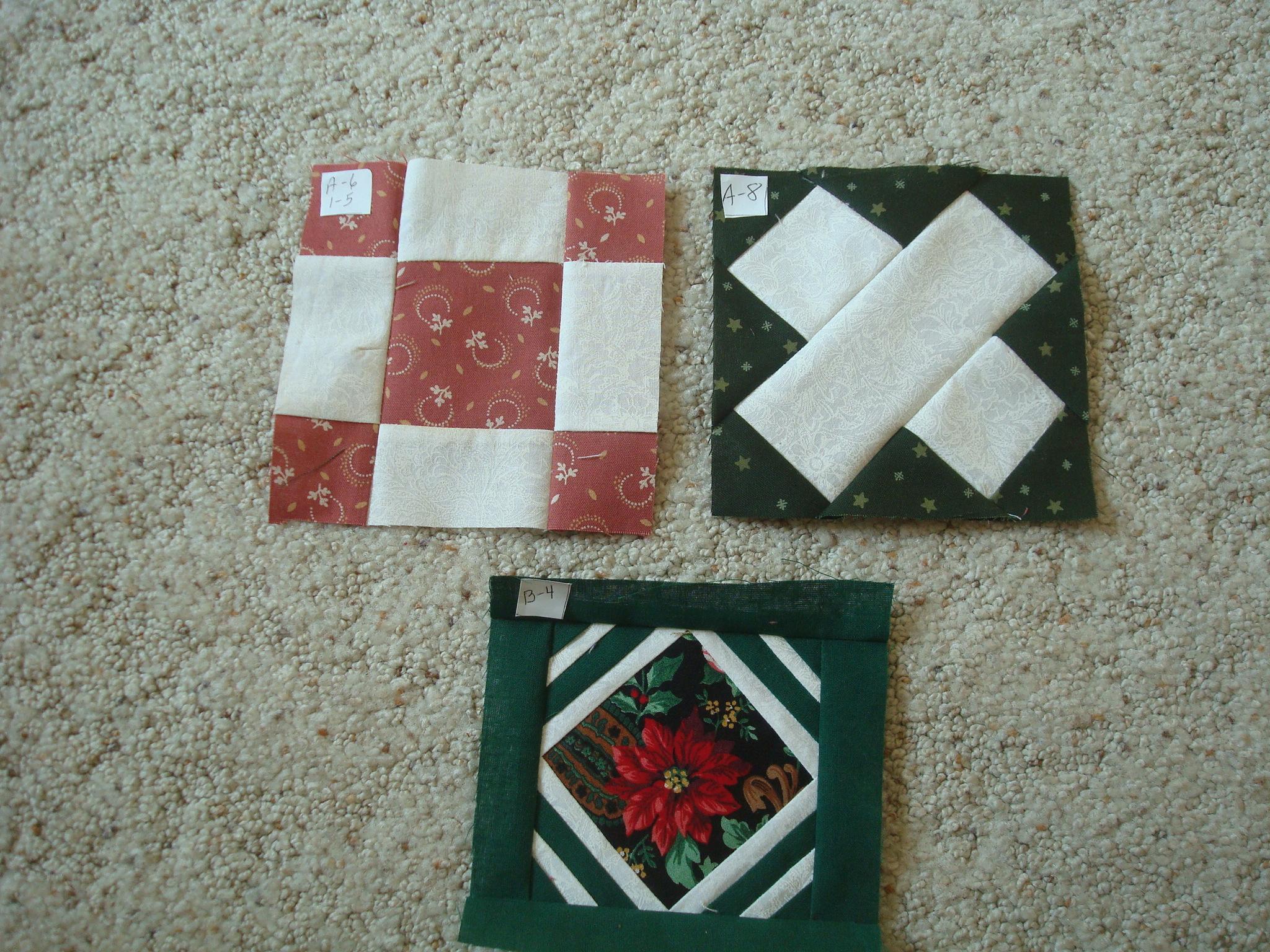 Name:  2012-Jan 17-First set of 3 Dear Jane's.jpg Views: 571 Size:  1.27 MB