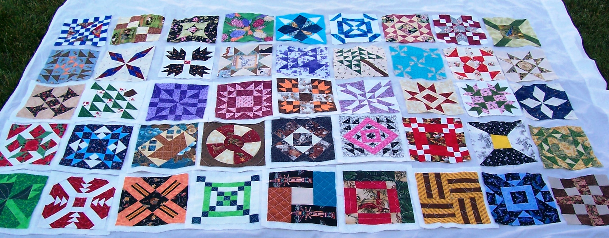 Name:  Pony Quilt First 45.jpg