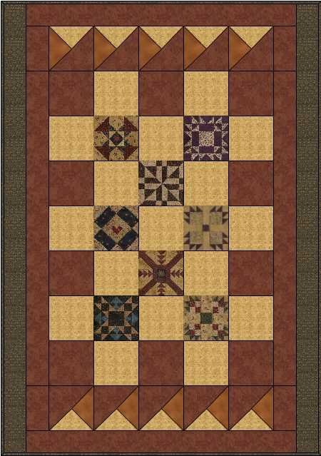 Name:  PC Lap 8 inch border blocks.JPG