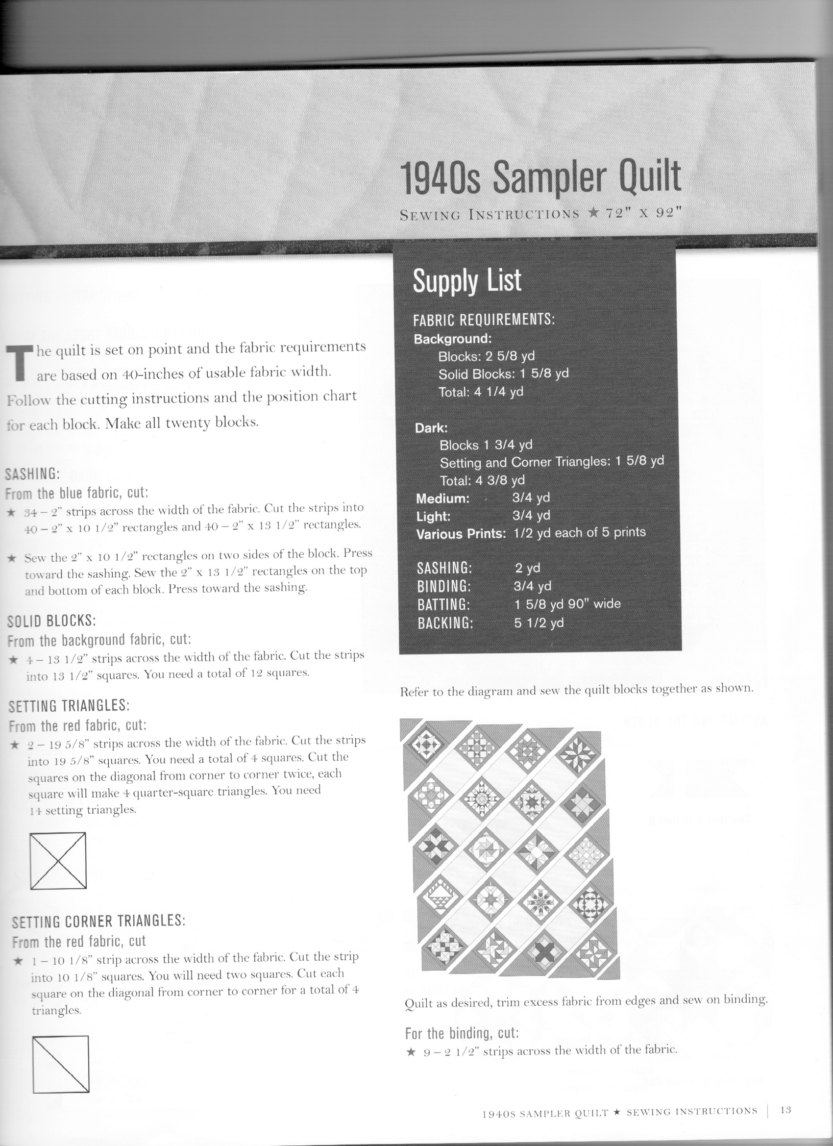 Name:  Quilts for Rosie - yardage.jpg