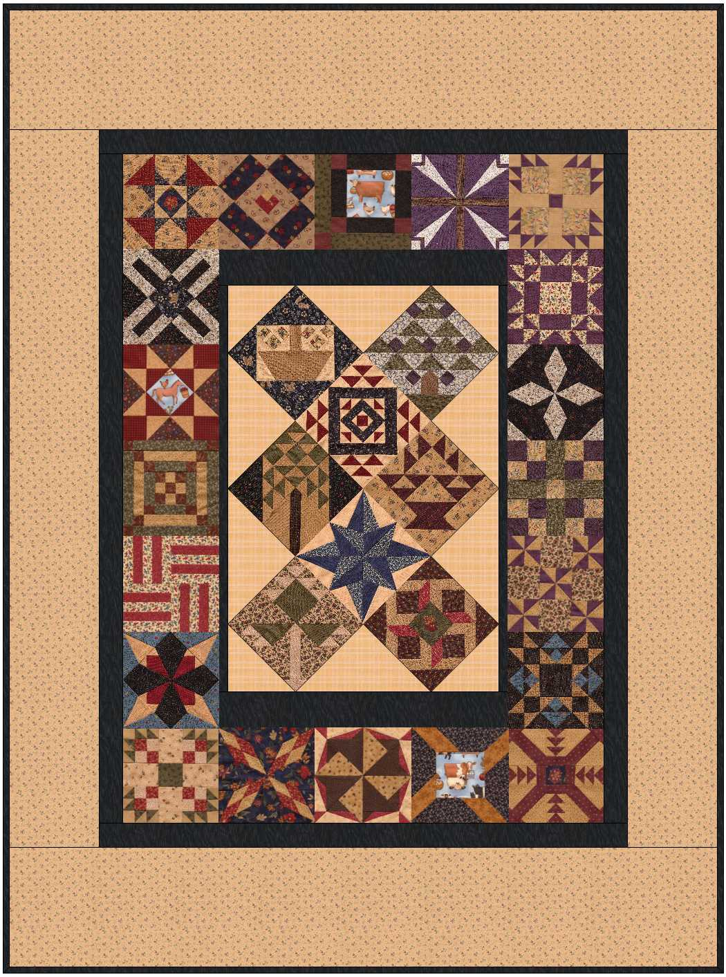 Name:  Carrie PC 60 x 80 quilt.JPG Views: 152 Size:  259.3 KB