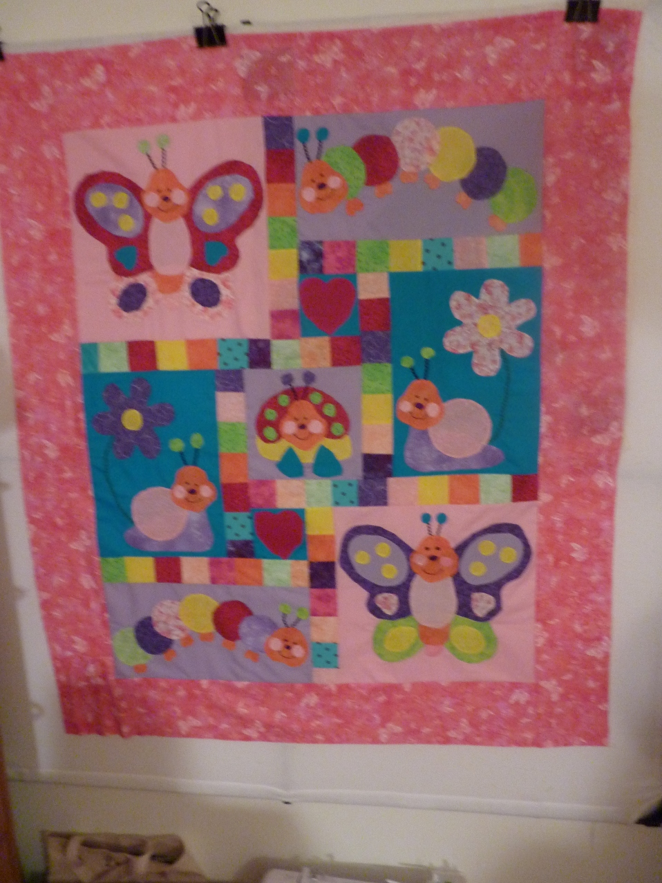 Name:  Ally's quilt in the making progress 002.jpg