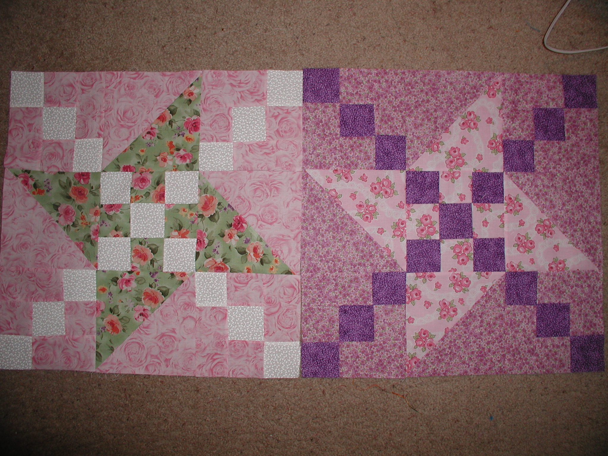 Name:  judys mystery quilt progress 002.jpg
