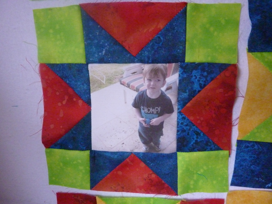 Name:  Kody Elmo quilt in progress 001.jpg