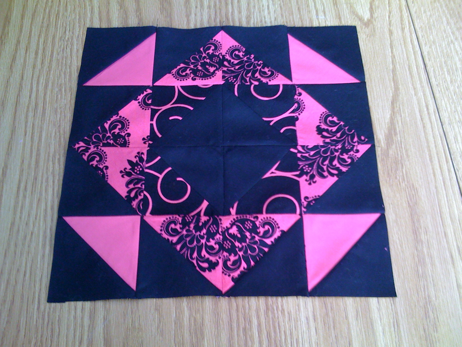 Name:  scrap quilt along #2 .JPG