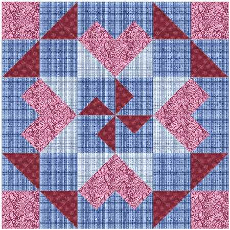 Name:  Hearts Quilt Block.JPG