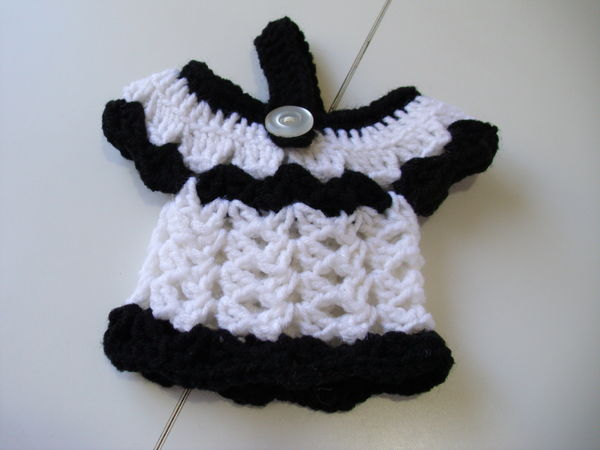 Dress Towel Toppers Crochet