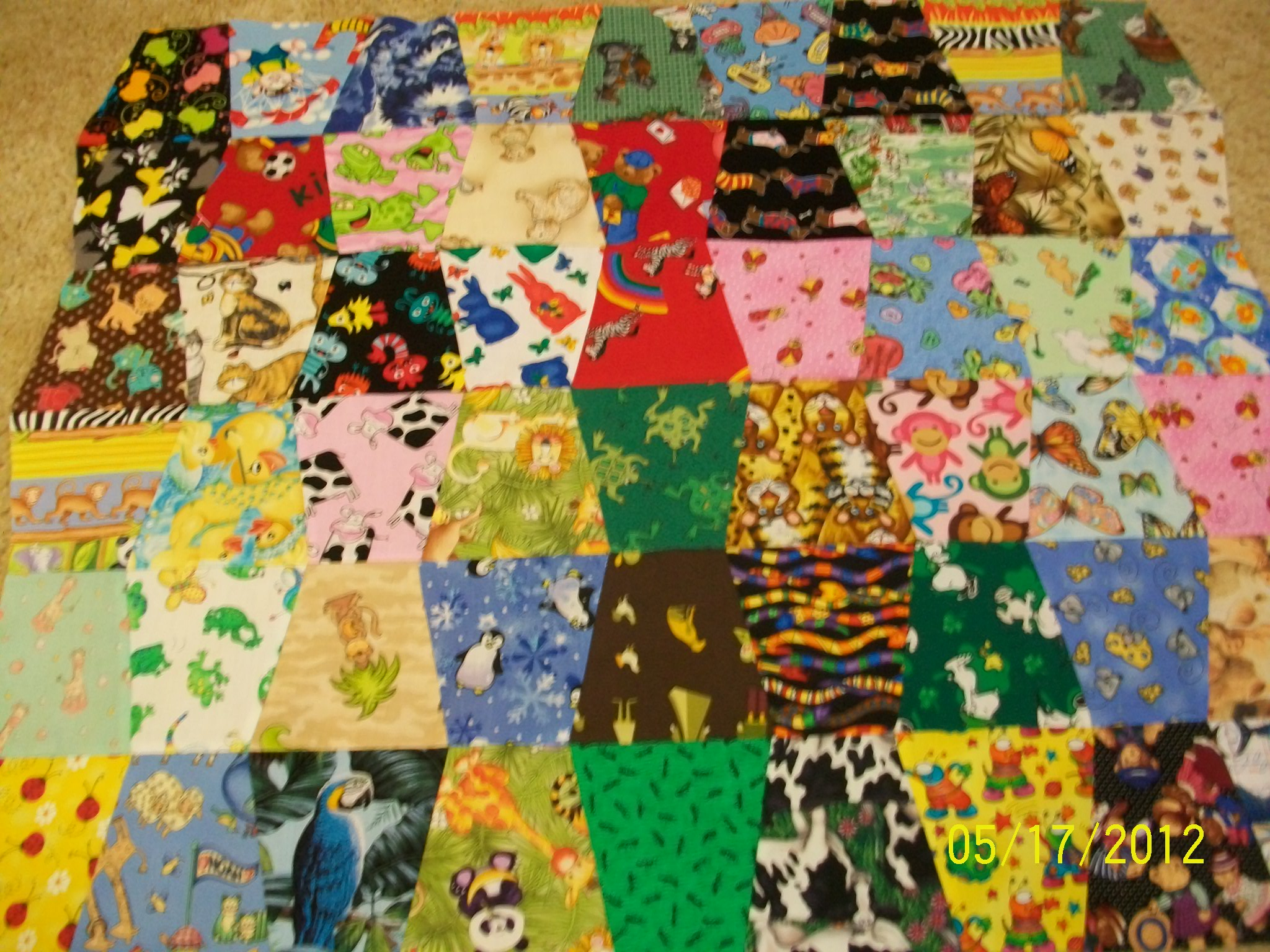 Name:  I Spy Animal Quilt 001.JPG