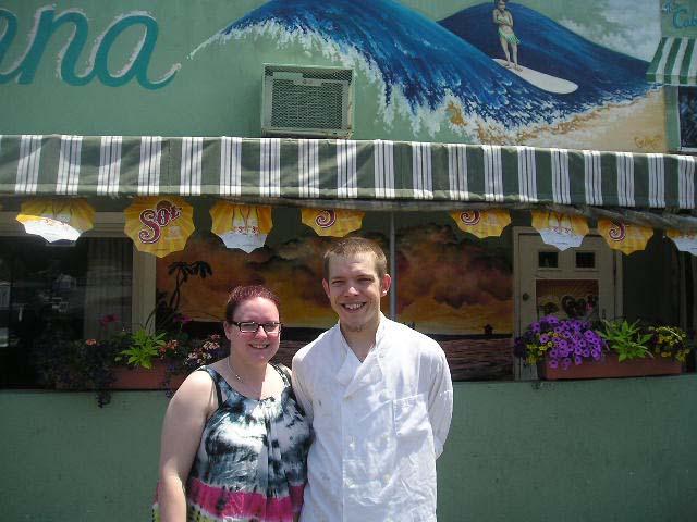 Name:  Melissa and Chef Blaze.jpg Views: 114 Size:  73.6 KB