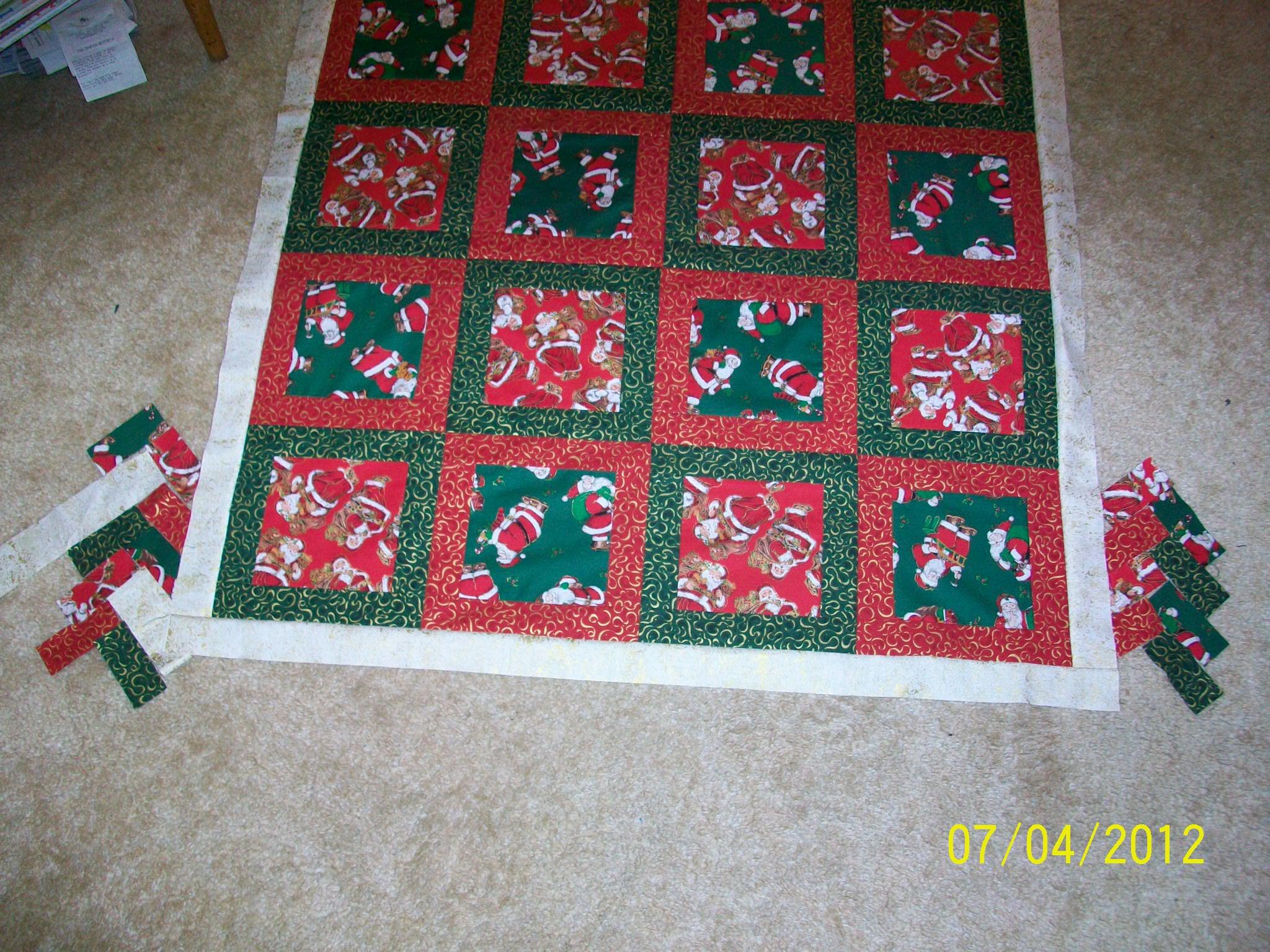 Name:  Pam's Christmas Throw 001.JPG Views: 108 Size:  896.9 KB