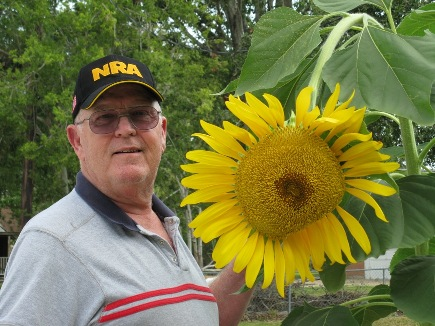 Name:  sunflower & Jim.jpg