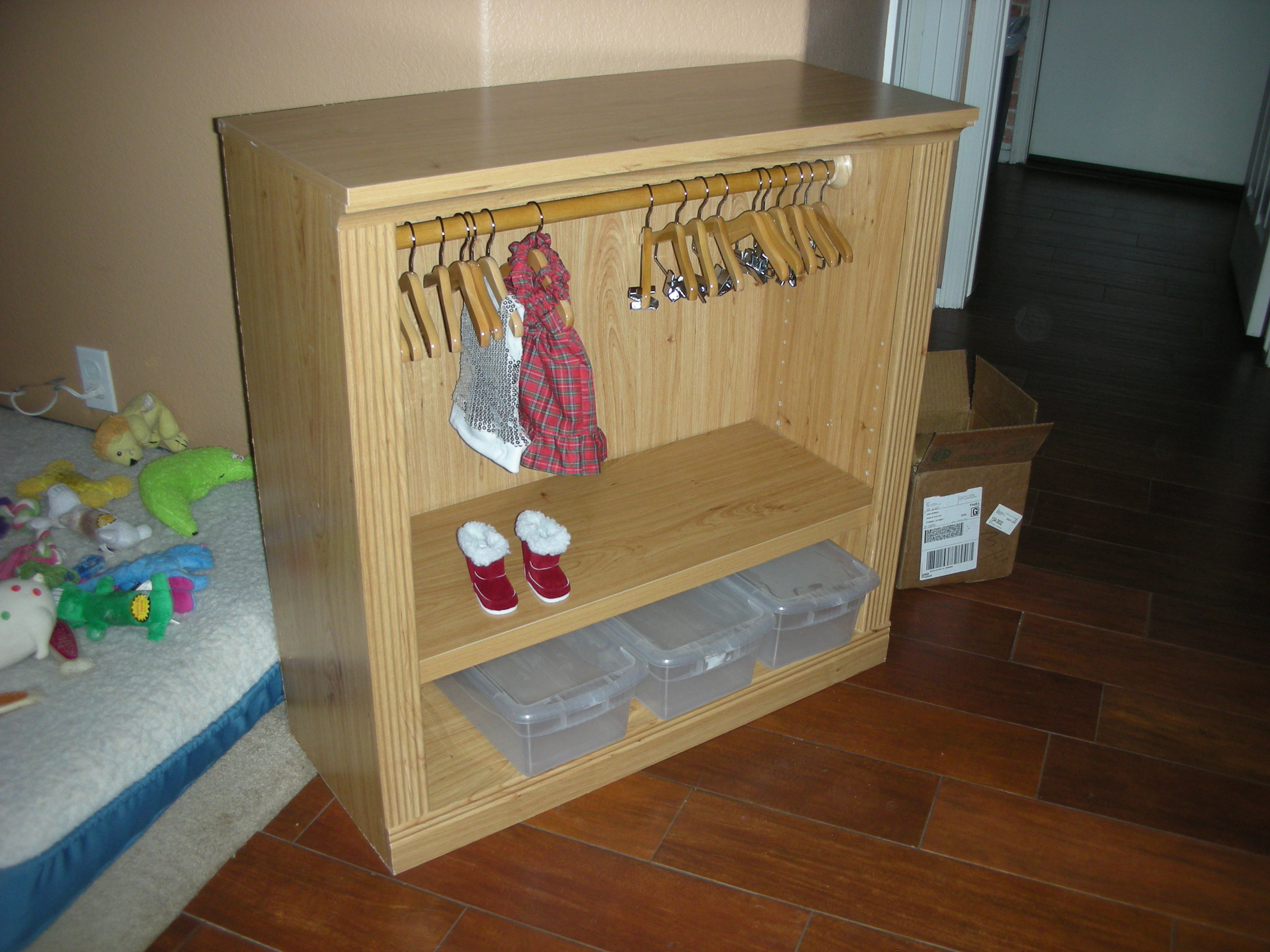 "18"" doll clothes closet/armoire - Page 5"