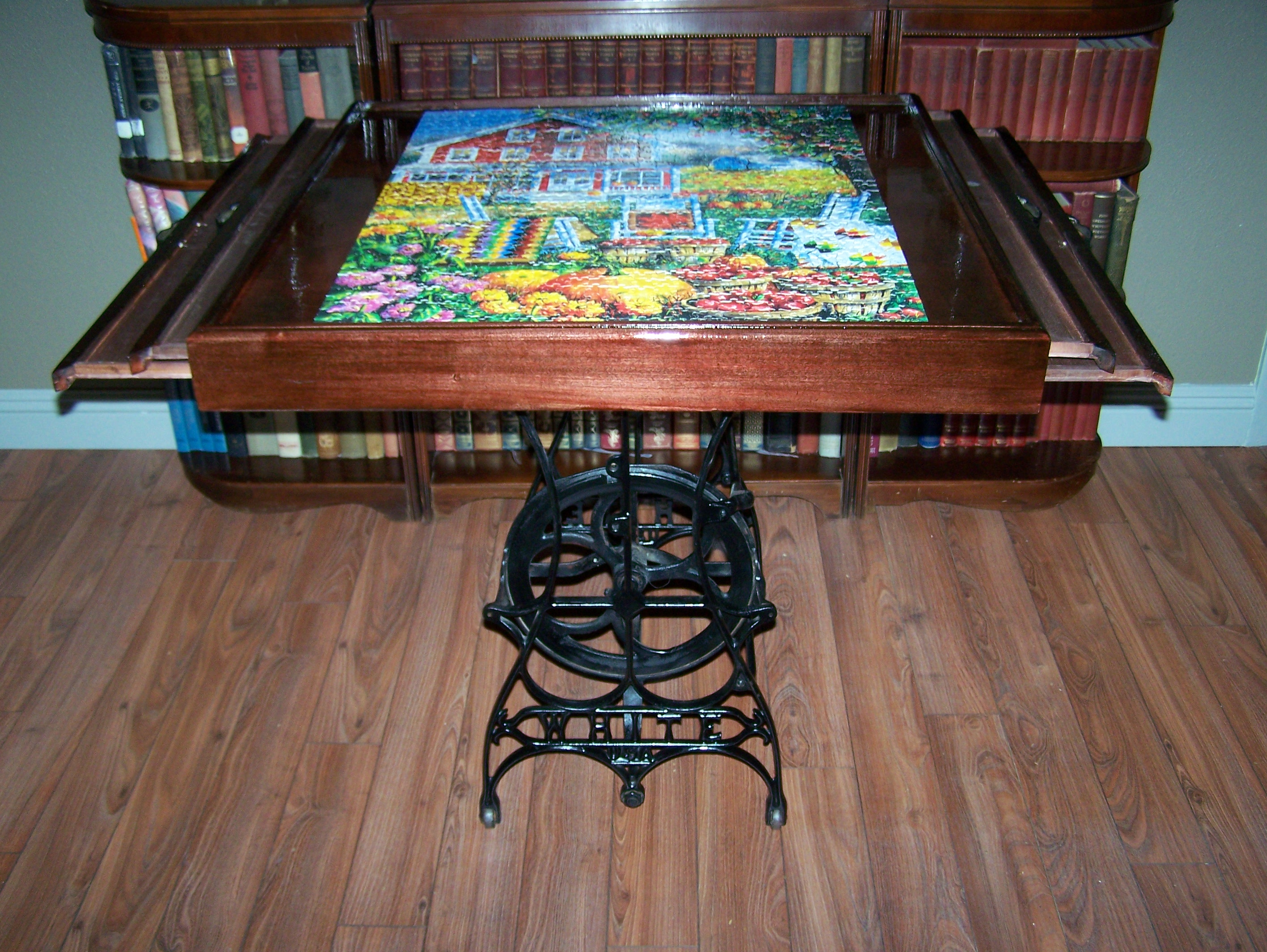 New And Improved Puzzle Making Table