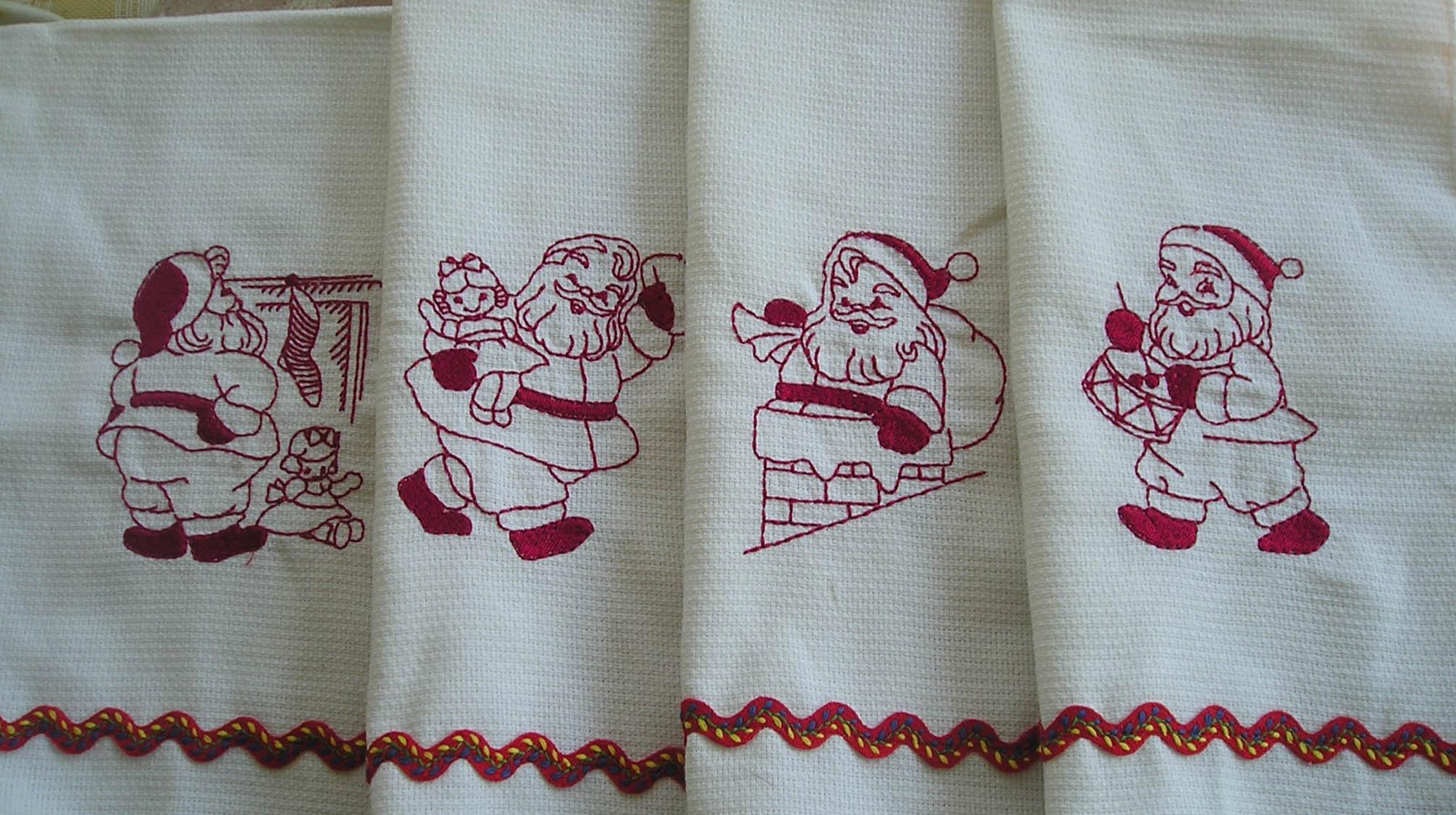 Name:  Fun with Santa Tea Towel Guest Towel Set 1.jpg Views: 608 Size:  318.4 KB
