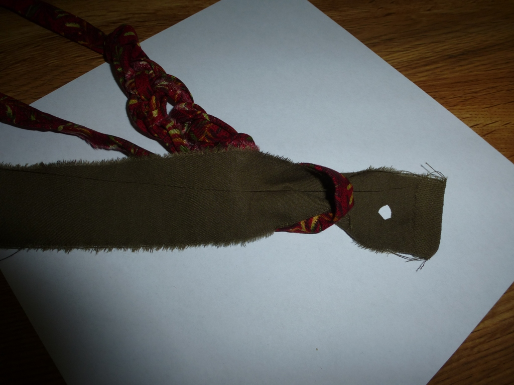 Name:  P1020330  Adding post fabric by cutting small hole.JPG Views: 1753 Size:  371.0 KB