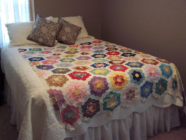 Grandmother S Flower Garden Quilt