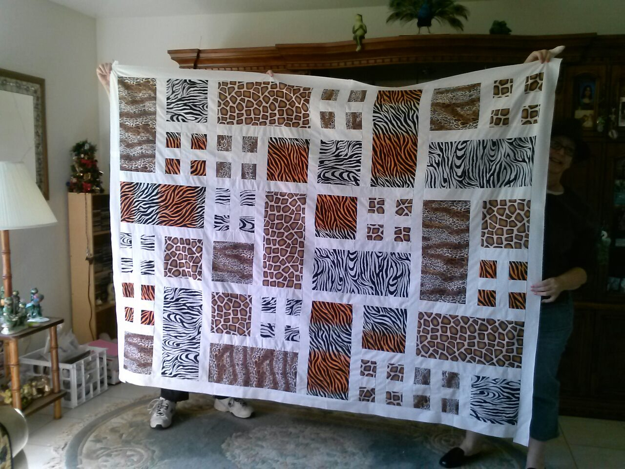 Name:  animal print quilt 2013.jpg