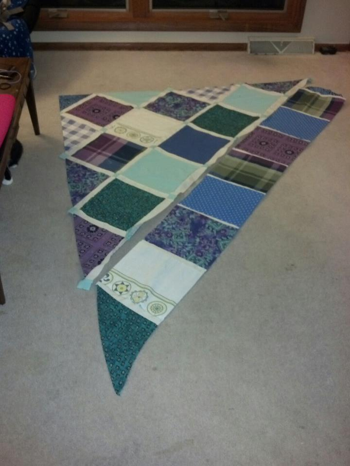 Name:  Mary's quilt so far.jpg