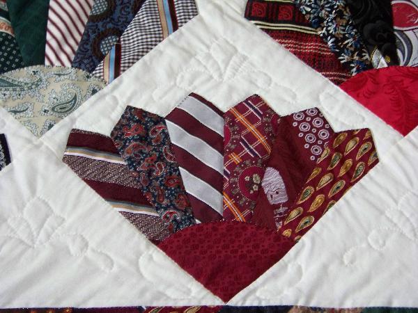 Neck tie quilts