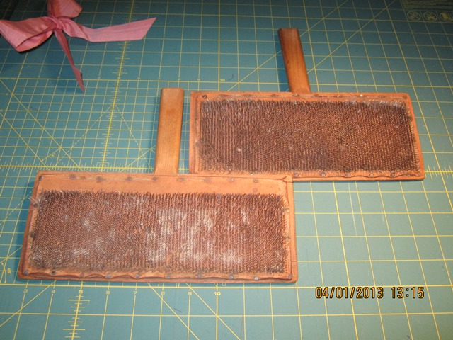 Name:  Carders used for carding 001.JPG