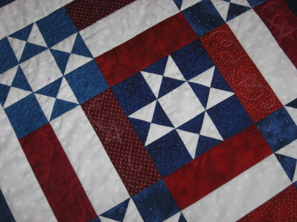 quilting category red and quilts white linda redwhiteblue quilt blue