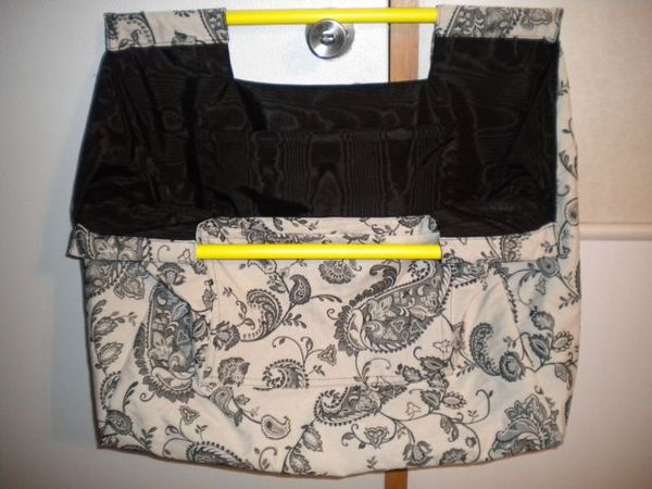 Large Tote Or Bag With Two Long Sticks For Handles