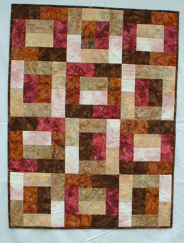 Easy Quilt With Three Fabrics : My easy Quilt Pattern