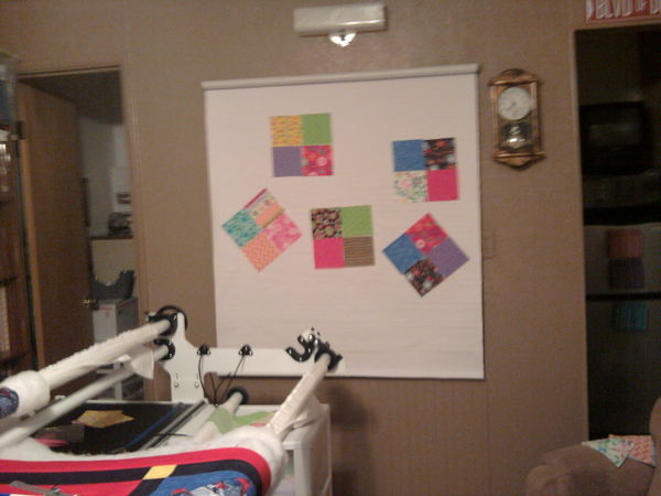 Creating A Design Wall On A Roll Up Window Shade