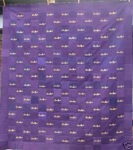 Moneik Quilts: Crown Royal Quilt Finished!