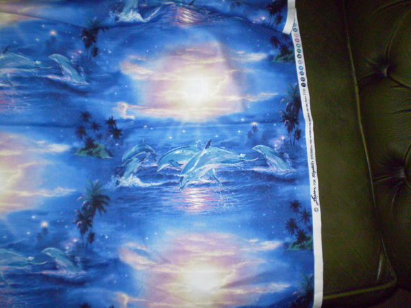 Iso Dolphin Fabric