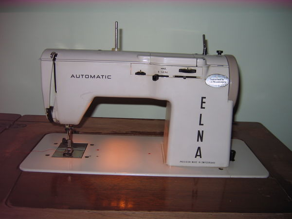 Vintage Elna 'automatic' 4040 Sewing Machine Unique How To Thread A Elna Sewing Machine