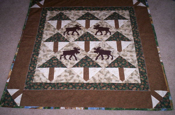 Need A Moose Quilt Block Pattern That Is Not Paper Pieced