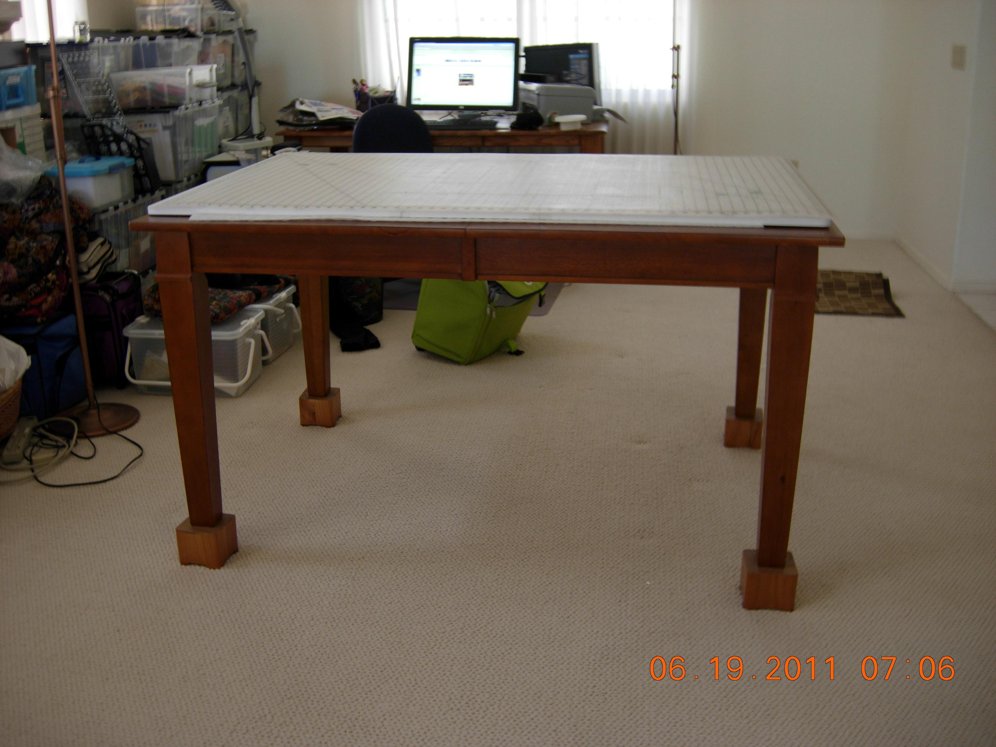 Sewing Room In Progress