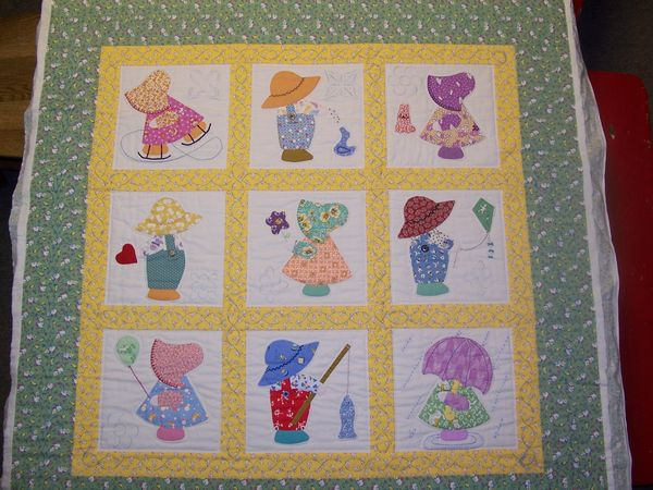 Do You Make Sunbonnet Sue Quilt Blocks