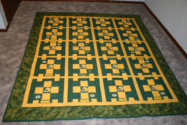 Suggestions For Green Bay Packers Quilt