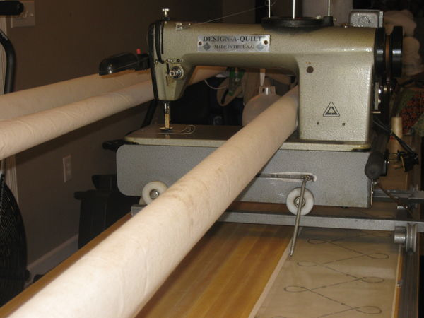 daq quilting machine