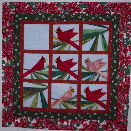Cardinal Applique Pattern Free Appliq Patterns