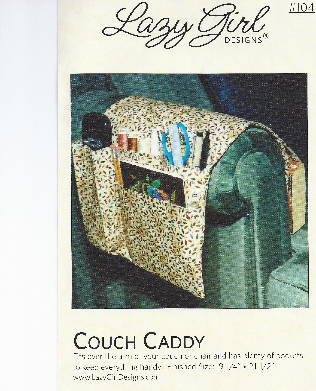 Bed Caddy Organizer Bed Pocket Organizer Pattern