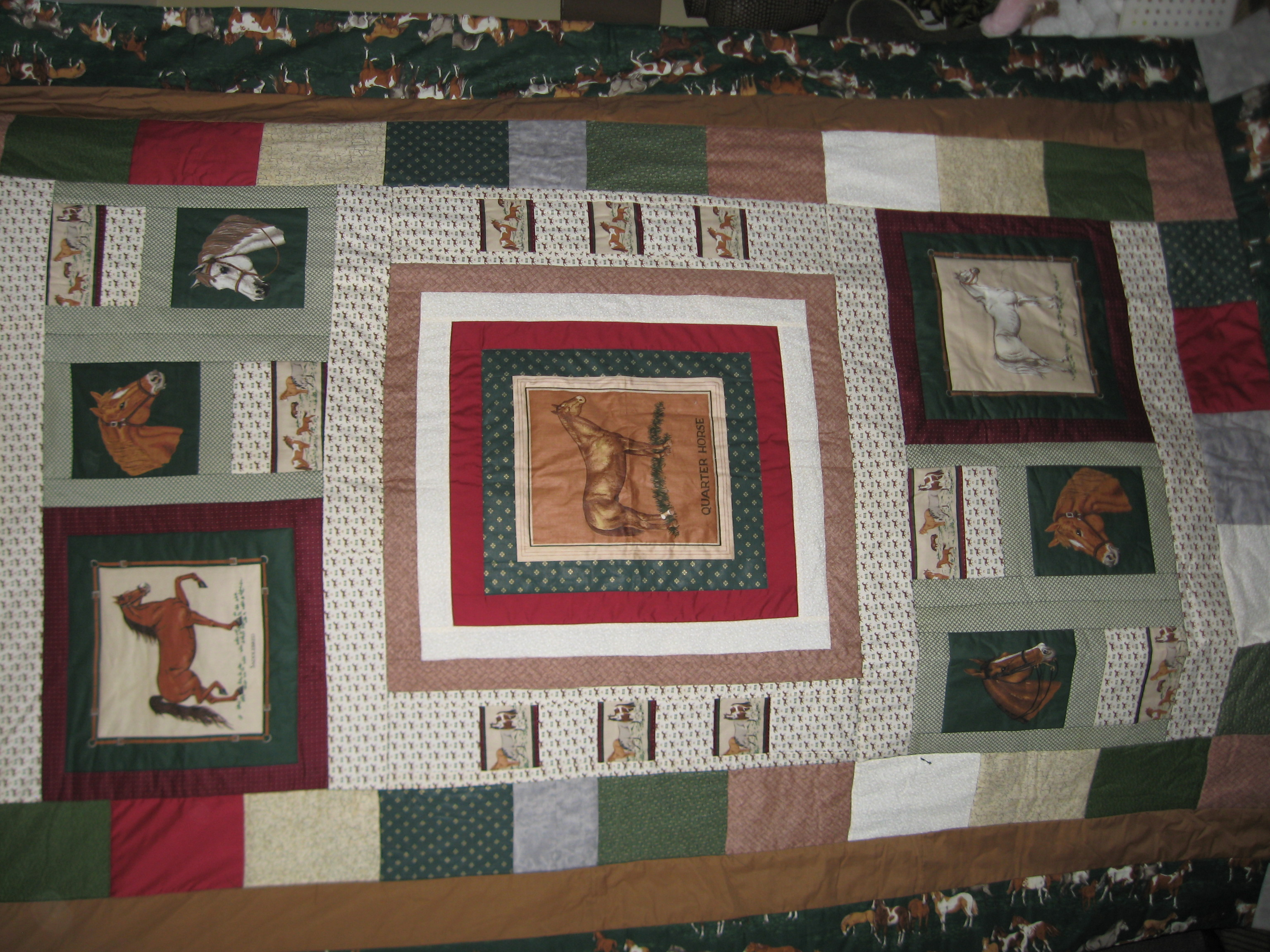 Using A Panel To Make A Quilt How Do You Decide On A