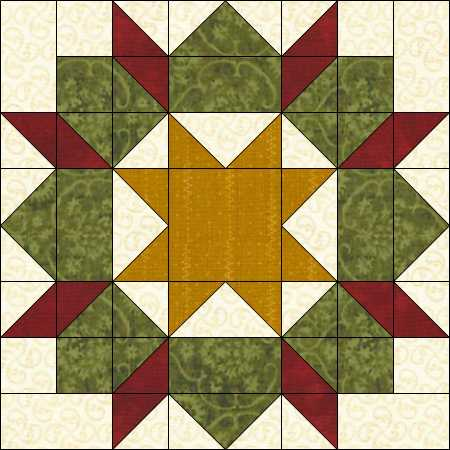 Name:  castle wall wreath block.JPG