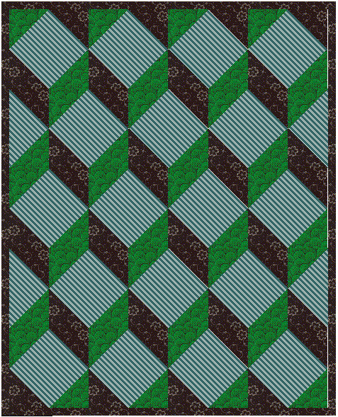 Name:  tumbling blocks by sq in a sq.jpg Views: 1484 Size:  387.1 KB