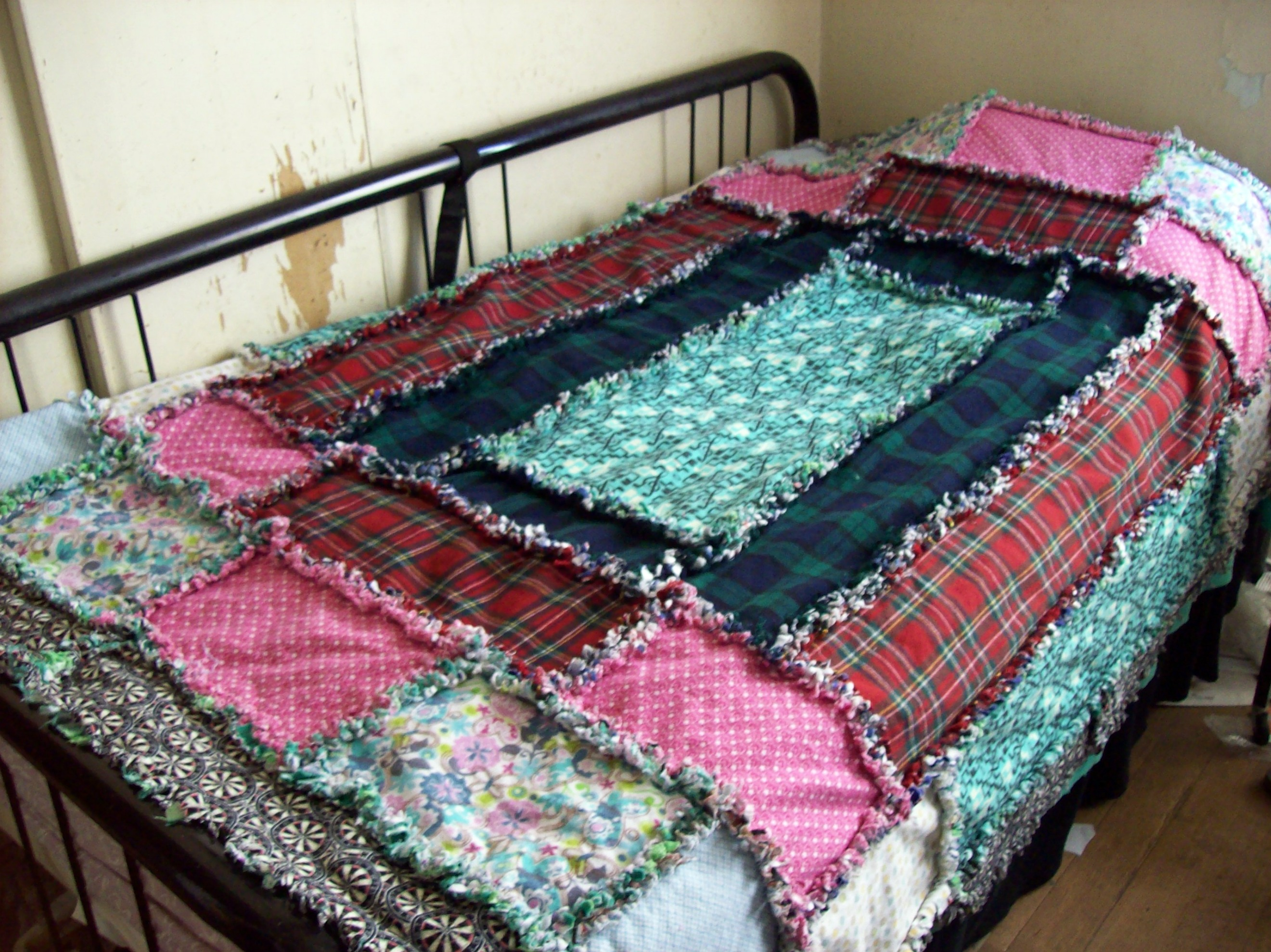 How To Rag Quilt