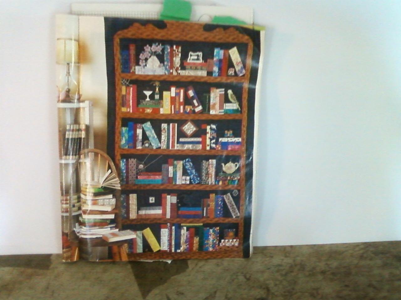 bookshelf quilt instructions