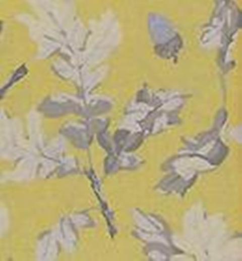 Yellow & gray fabric?