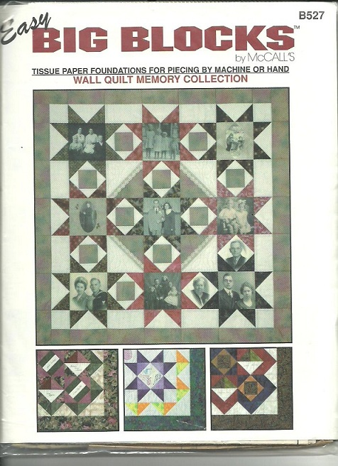 Looking for memory/photo quilt pattern
