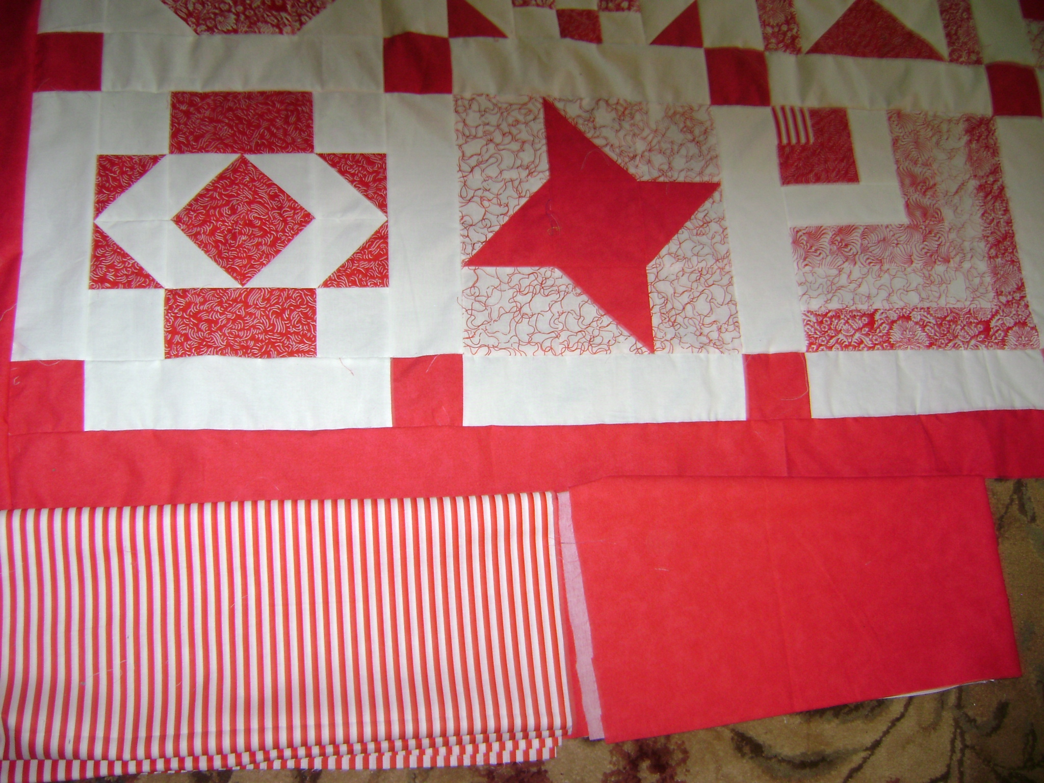 Name:  Red&White quilt & fabric sample 008.jpg