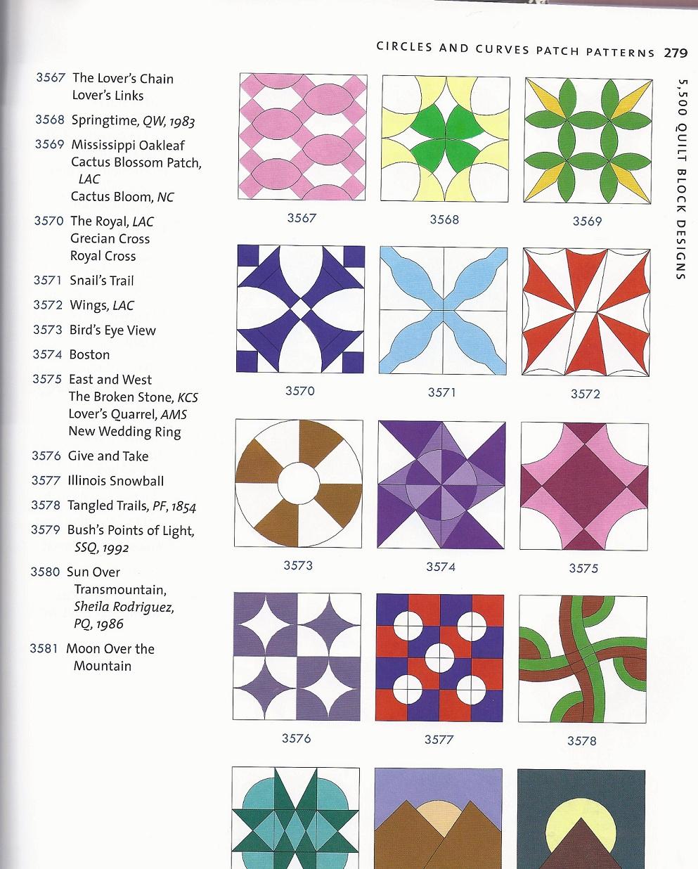 Name of this Quilt Block? : 5500 quilt block designs - Adamdwight.com
