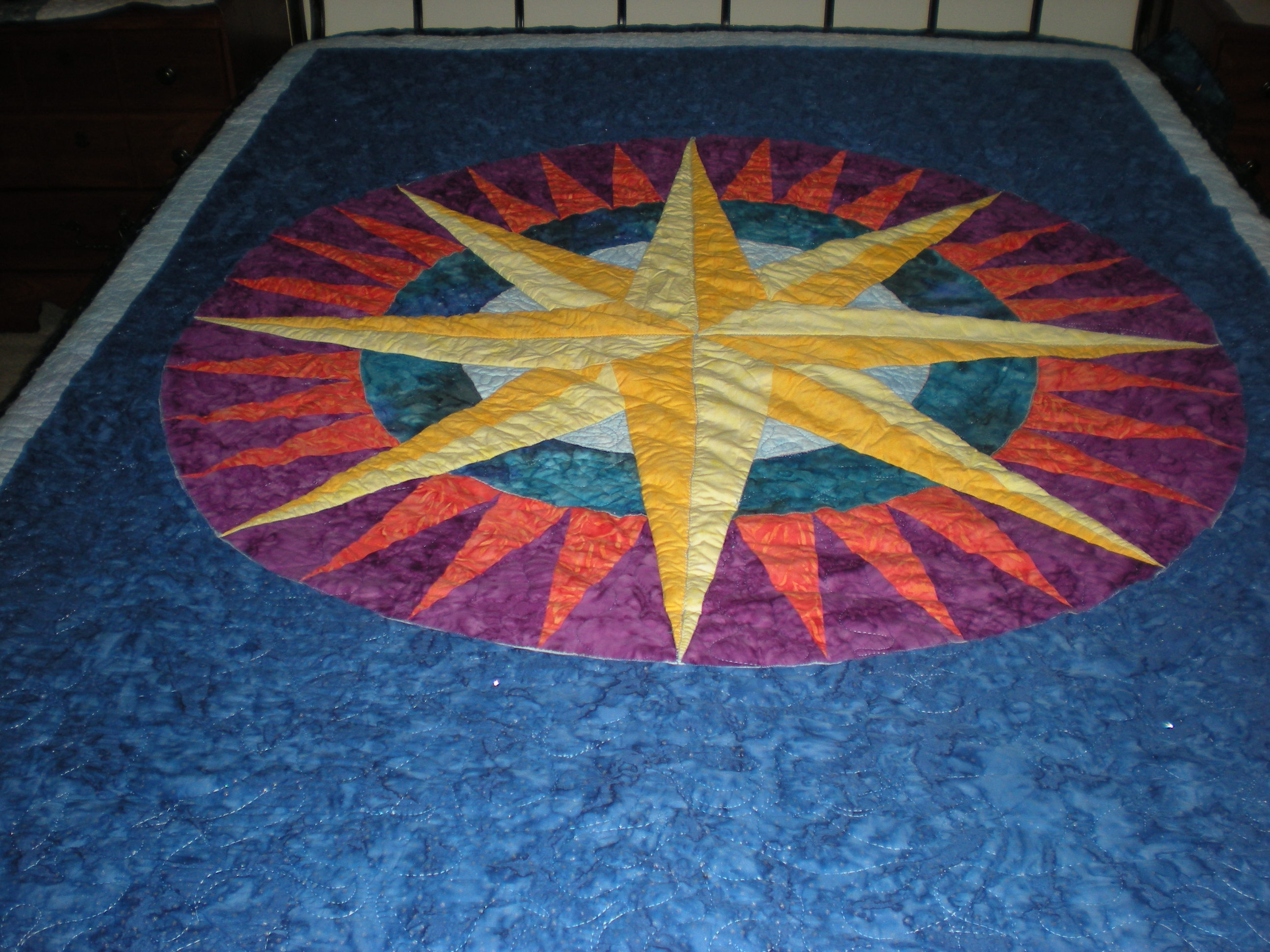 Quilting Patterns Mariner S Compass : Mariner s Compass pattern