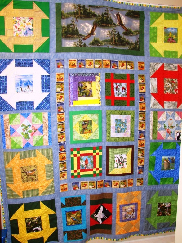 Name:  finished bird quilt.jpg Views: 955 Size:  226.6 KB