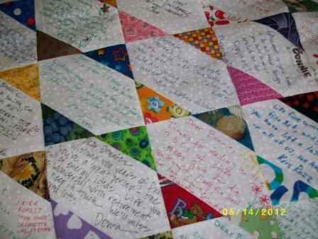 Looking For Signature Quilt Ideas